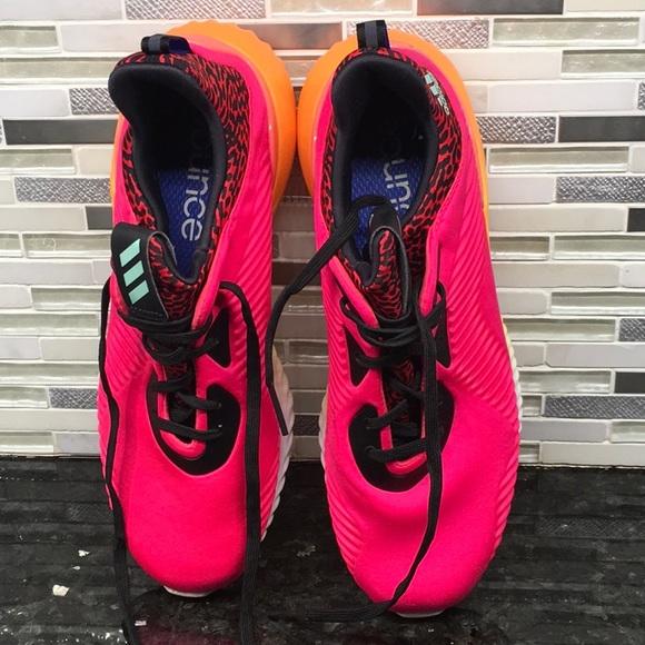 adidas Size ShoesNeon Pink SneakersPoshmark 10 cKFJl1